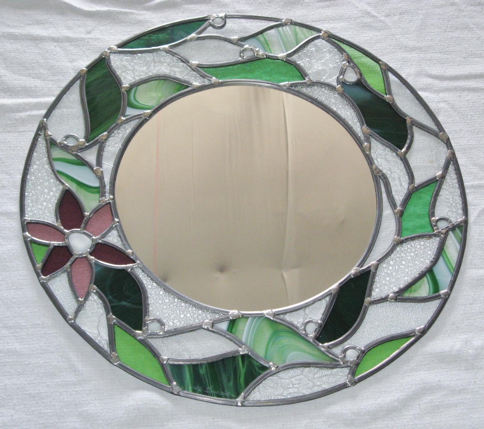 Miroir Vitrail Modeles l'atelier d'anne-sophie | créations